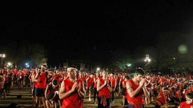 13th World Wai Kru Muay Thai Ceremony in Ayutthaya Historical Park 10